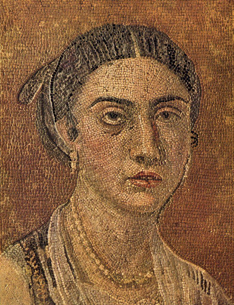 Roman mosaic jewelry