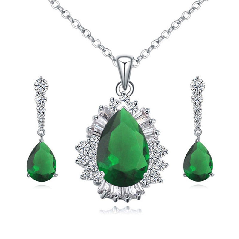 emerald costume jewelry