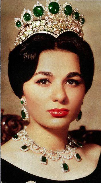 Iranian Empress Emerald Tiara
