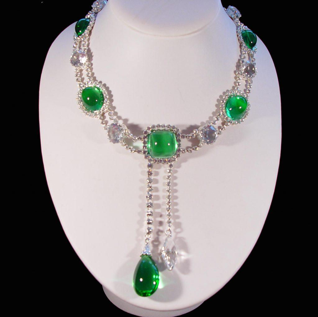 the Cambridge Emerald Necklace