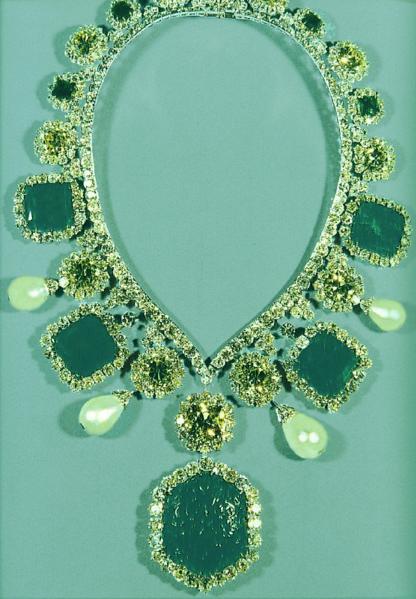 Iran Empress Emerald Necklace