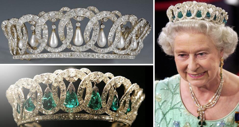 Grand Duchess Vladimir Emerald Tiara