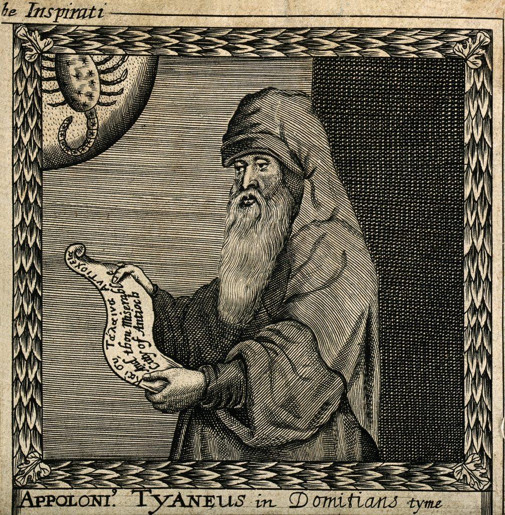 Apollonius of Tyana engraving