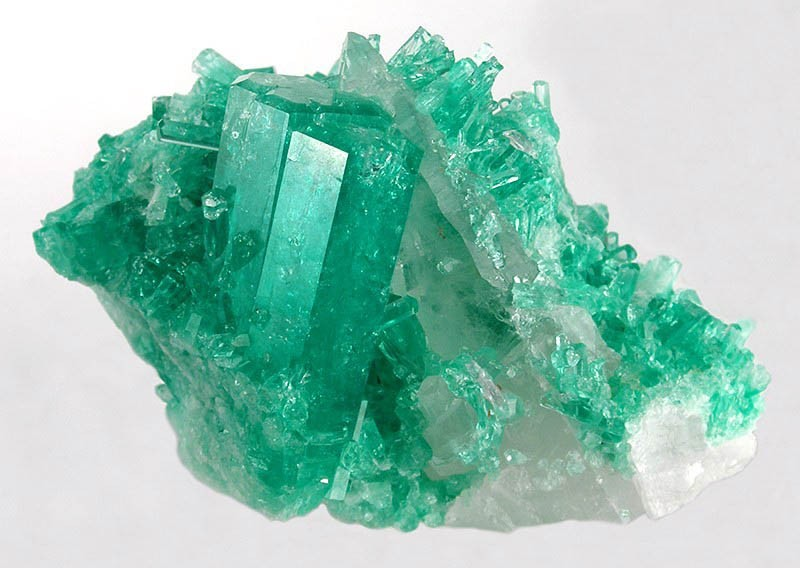 Brazilian emerald beryl quartz