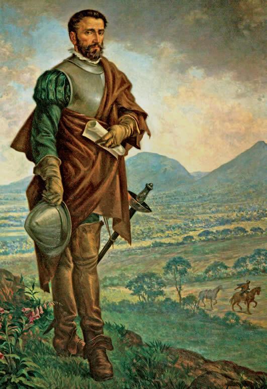 Gonzalo Jimenez de Quesada portrait