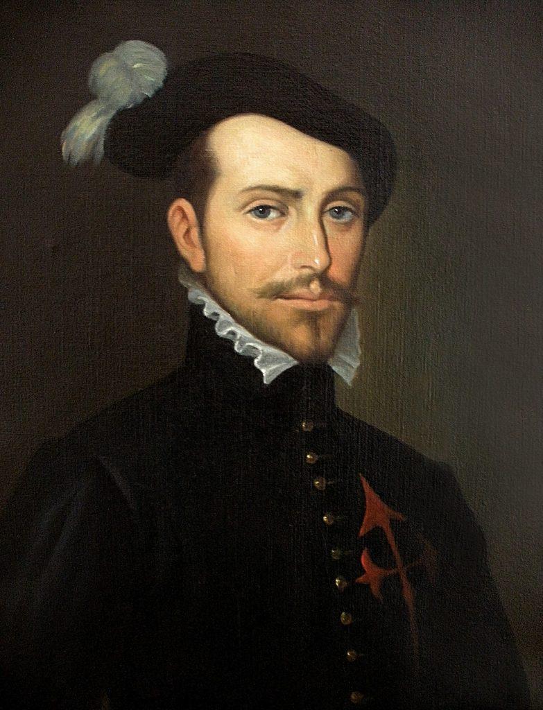 Hernán Cortés painting