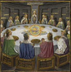 holy grail Jesus round table