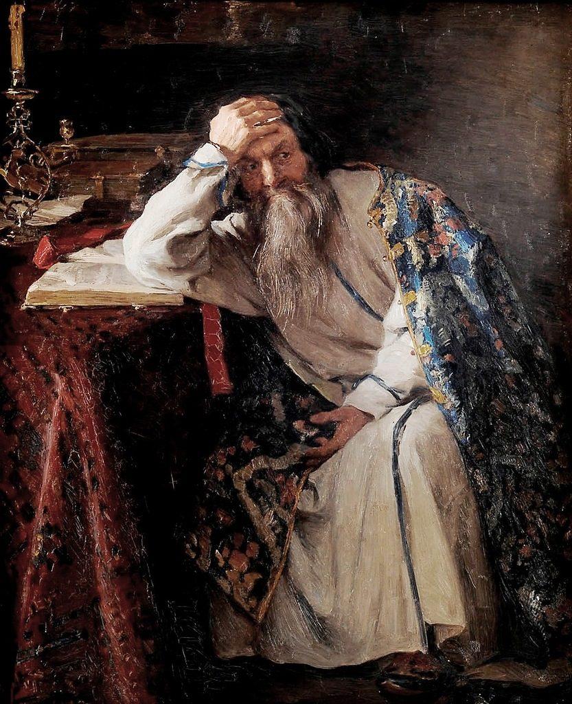 Ivan the Terrible by Klavdiy Lebedev