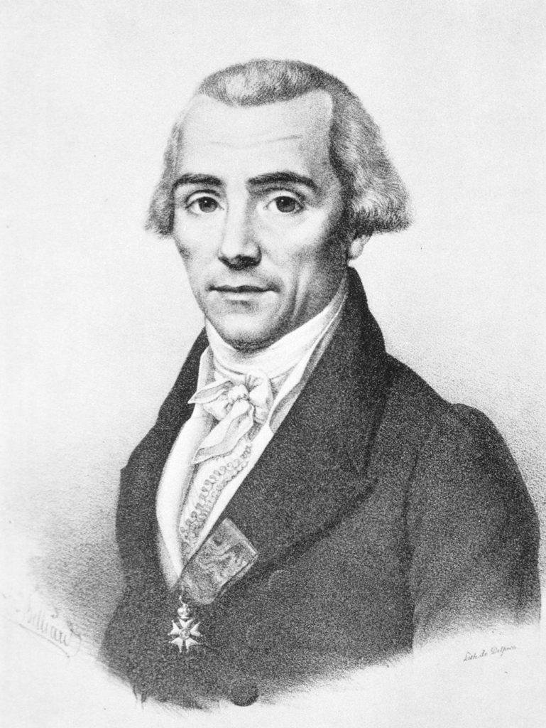 Nicolas Louis Vauquelin sketch