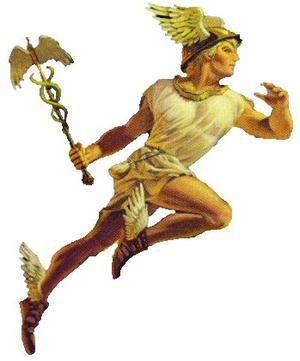 Mercury greek god