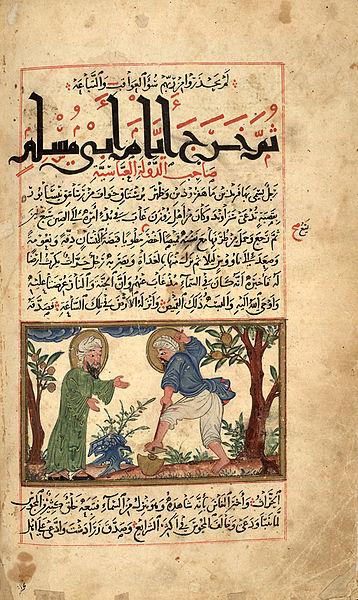 biruni manuscript page