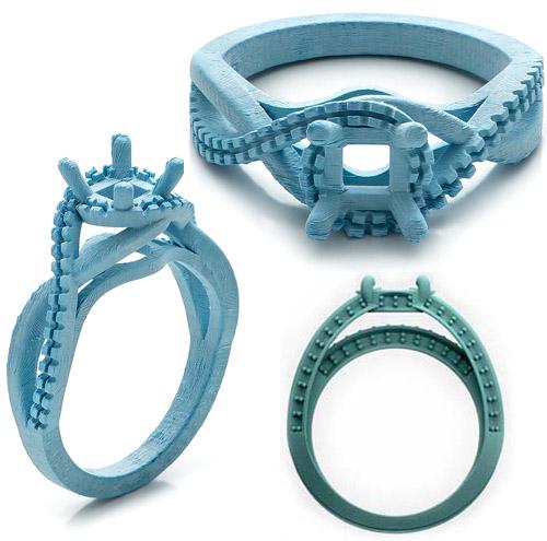 diamond ring mold