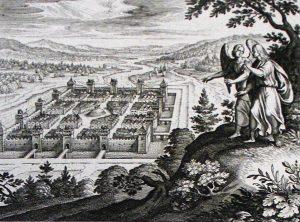 drawing new Jerusalem