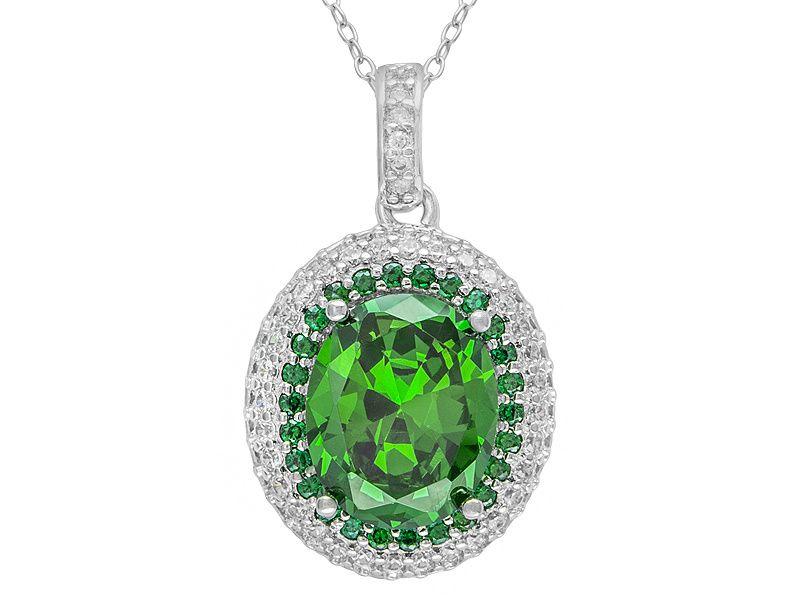 emerald simulant stone