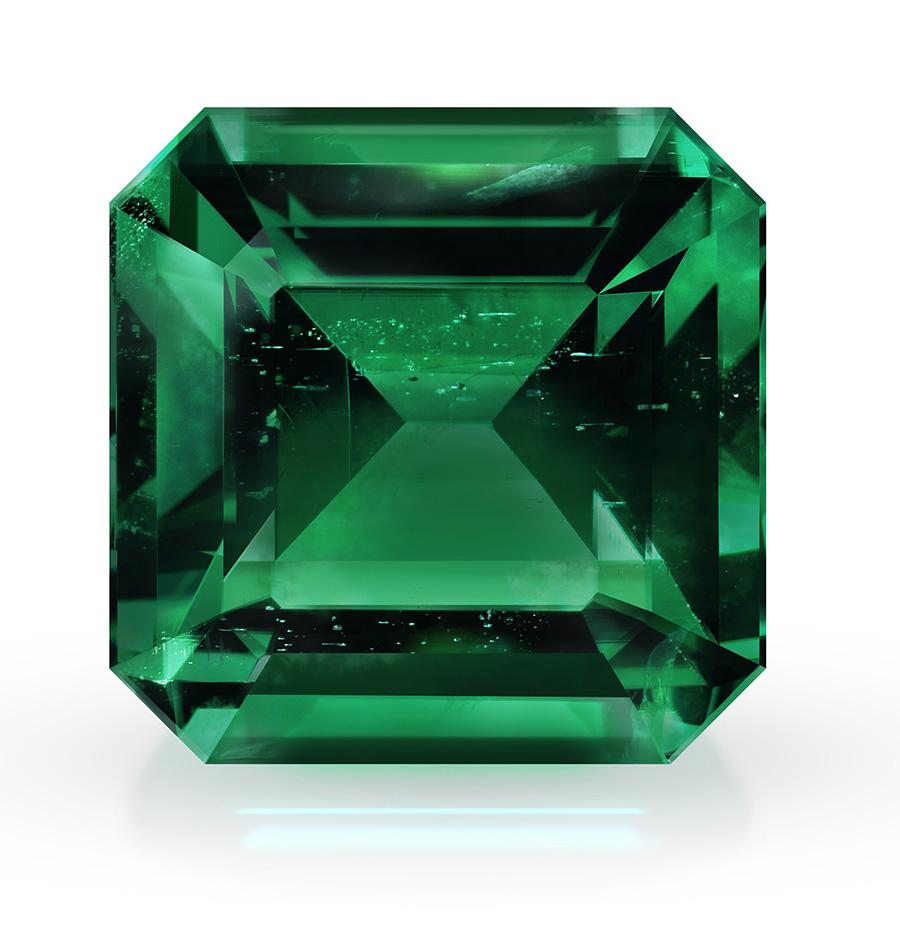 natural emerald asscher cut