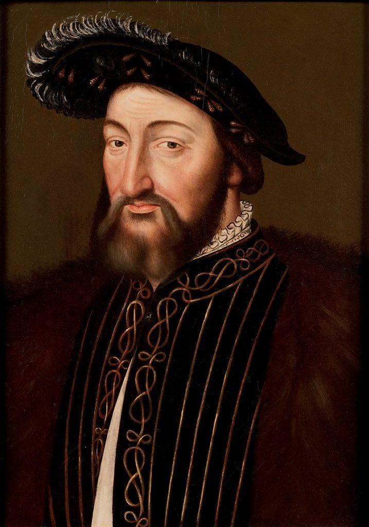 portrait francis I of france