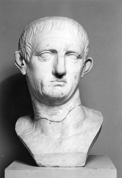 roman emperor nero bust
