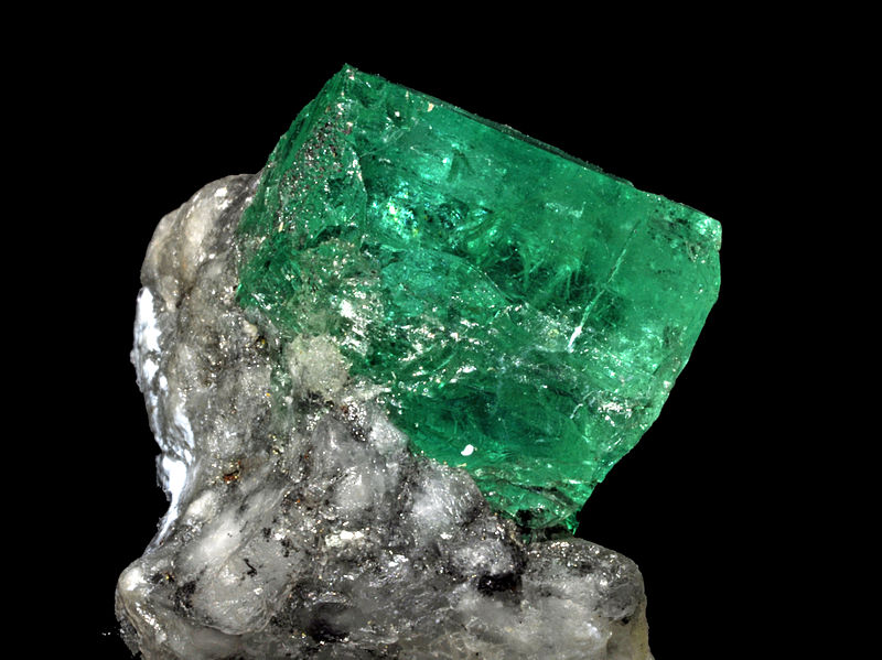 twelve facets of an emerald