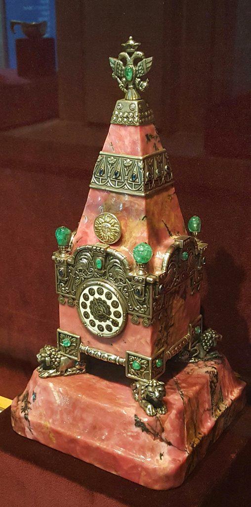 faberge emerald clock