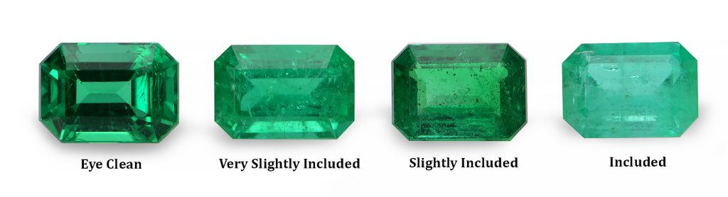 emerald clarity chart