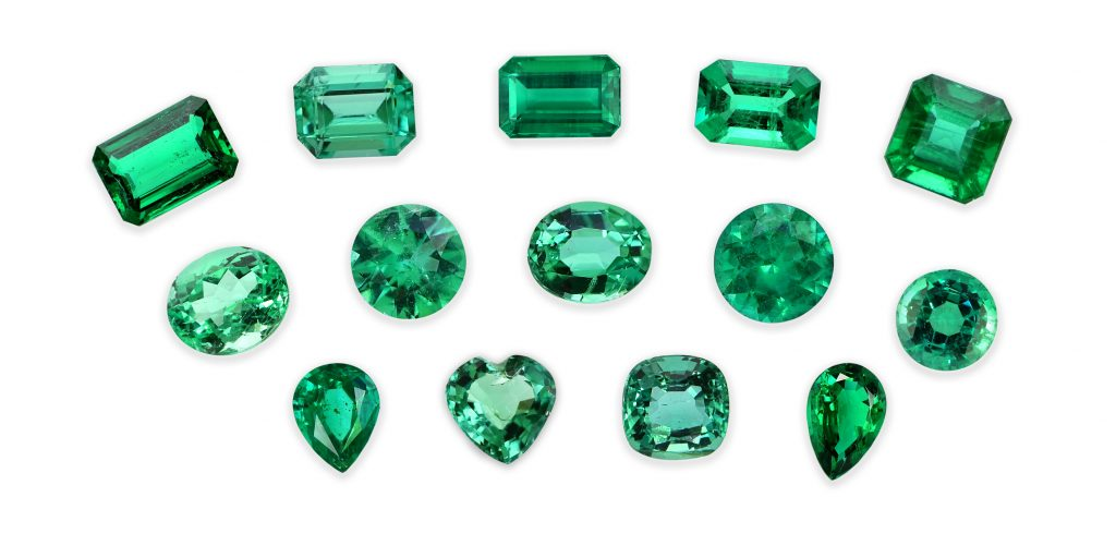 emerald saturation color chart